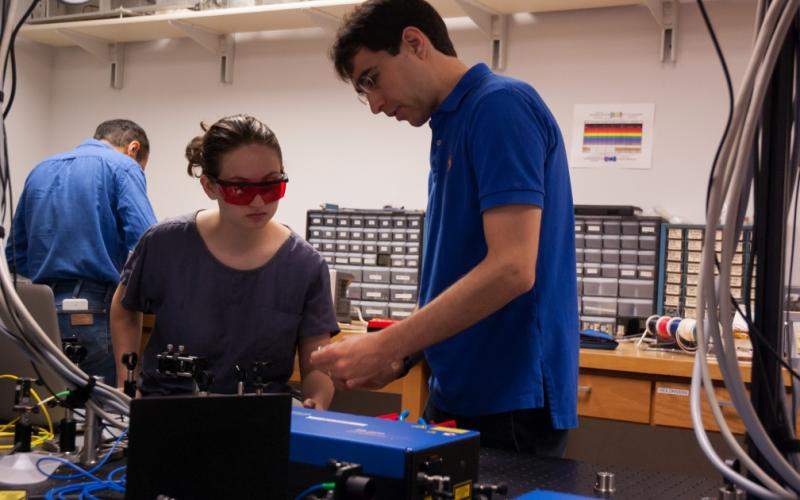 Welcome to Sommer Lab! We research quantum many-body physics with ultracold atoms.